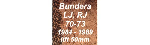 Bundera (far rotund) LJ RJ KZJ 70, 73 1984-1989