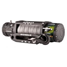 Troliu Wireless Ironman4x4 12.000lbs (5443kg) 12V  plasma Dyneema 9mm GARANTIE 5 ani