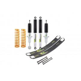 Hilux 2005-2015 kit inaltare cu amortizoare NitroGas, lift 45mm