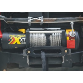 Troliu XDyna 13.500lbs 2 VITEZE 3 ani garantie 6130kg, 6.6CP, reductie variabila, cablu sintetic 10mmx28m, wireless