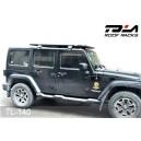 Portbagaj aluminiu Jeep JK lung  97 x 140 x 4 cm, TOLA China, sustine 100 kg garantie 5 ani