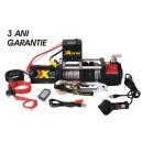 Troliu XDyna 3 ani garantie, 4535kg wireless 6CP, reductie 246:1 cablu sintetic 8mm