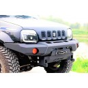 "Bara fata aluminiu ""Fighter: Jimny , suport troliu otel inclus"