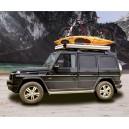 Cort auto 2 persoane Desert Cruiser 120x200cm capac aluminiu + roofrack care suporta 80 kg