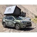 Cort auto 2 persoane Desert Cruiser 120x200cm / aluminiu + roofrack care suporta 80 kg , deschidere piston gaz 2 minute