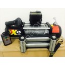 Troliu XDyna 13.500lbs-6130 kg, 3 ani garantie, 6CP, reductie 246:1 cablu otel 9.5mmx28m wireless Heavy Duty, solenoid ALBRIGHT
