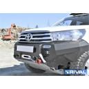 Bara aluminiu certificare TUV Toyota Hilux Revo 2015-2018, suport troliu inclus