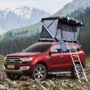 Cort auto 2-3 persoane Rock Cruiser 140x200cm / aluminiu + roofrack care suporta 80 kg , deschidere piston gaz 2 minute