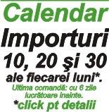 Calendar importuri