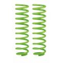 (Verde) set 2 arcuri elicoidale spate 0-300kg lift 40mm