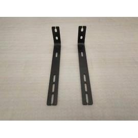 Set 2 suporti pentru umbrar lateral pentru portbagaj plat